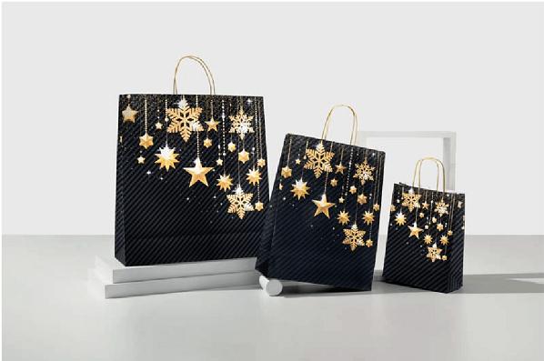 Augurate buone feste ai vostri clienti con i sacchetti natalizi online di DiEmme S.r.l.